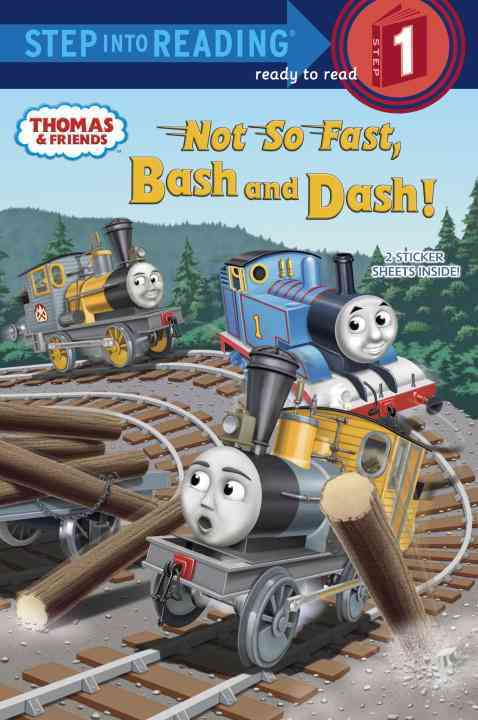 Not So Fast, Bash and Dash! Step into Reading Book By Awdry, W./ Courtney, Richard (ILT)